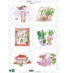 Marianne Design korttikuvat French Antiques Herbs