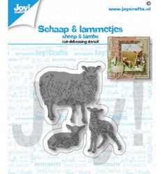 Joy! Crafts stanssisetti Sheep & Lambs