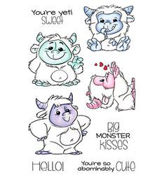 C.C.Designs leimasinsetti Abominable