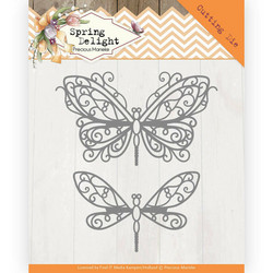 Precious Marieke Spring Delight stanssisetti Spring Butterfly