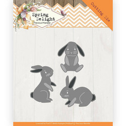 Precious Marieke Spring Delight stanssisetti Spring Bunnies