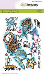 CraftEmotions leimasinsetti Mermaid 1
