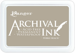 Archival Ink -mustetyyny, sävy Pebble Beach