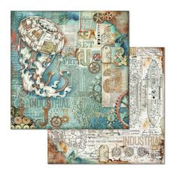 Stamperia skräppipaperi Medusa