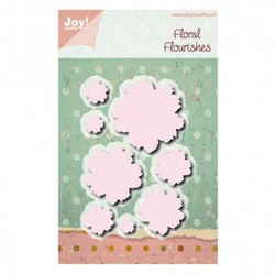 Joy! Crafts stanssisetti Large Flowers