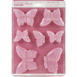 Stamperia Maxi Mould -muotti Butterflies