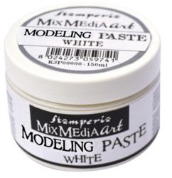 Stamperia Modelling -pasta, muotoilupasta, valkoinen, 150 ml
