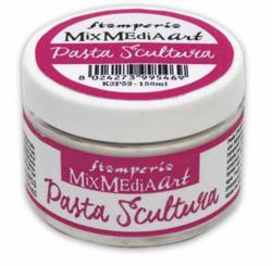 Stamperia Sculture -pasta, valkoinen, 150 ml
