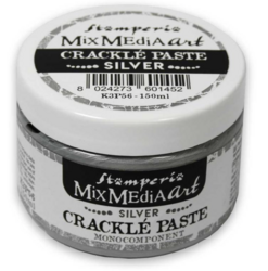 Stamperia Crackle Paste -pasta, hopea, 150 ml