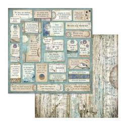 Stamperia skräppipaperi Cosmos Quotes