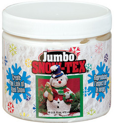 DecoArt Snow-Tex -lumiaine, 473 ml