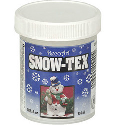 DecoArt Snow-Tex -lumiaine, 118 ml