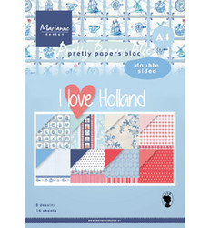 Marianne Design I Love Holland -paperikko, A4