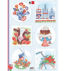 Marianne Design korttikuvat I Love Holland, Tulips