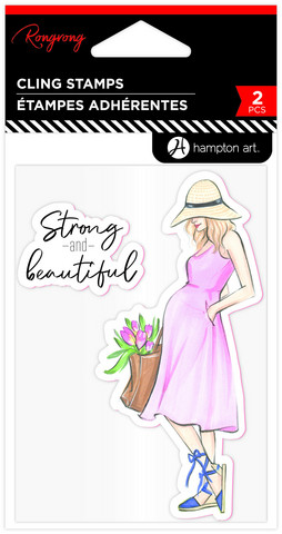 Hampton Art leimasinsetti Rongrong, Strong & Beautiful