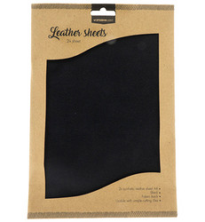 Studio Light Fake Leather -arkit, Black
