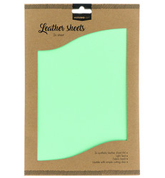 Studio Light Fake Leather -arkit, Light Teal