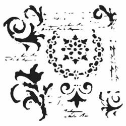 Crafter's Workshop sapluuna Vintage Scrolls
