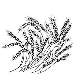 Crafter's Workshop sapluuna Wheat Stalks