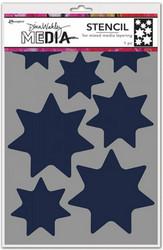 Dina Wakley Media sapluuna Giant Stars, 9