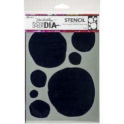 Dina Wakley Media sapluuna Circles For Painting, 9
