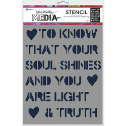 Dina Wakley Media sapluuna Soul Shines, 9