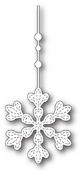 Memory Box Hanging Evelyn Snowflake -stanssi