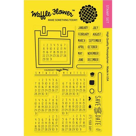 Waffle Flower leimasinsetti Calendar