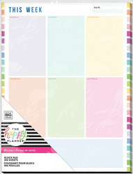 Happy Planner Block Pad -paperipakkaus, Fitness