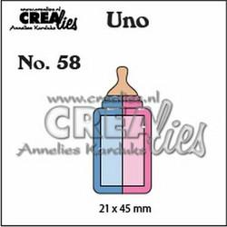 Crealies stanssisetti Baby Bottle, small