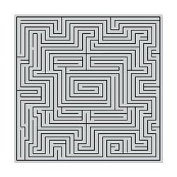 Hero Arts leimasin Maze Bold Prints