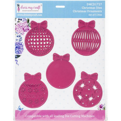 Dress My Craft stanssisetti Christmas Ornaments