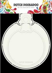 Dutch DooBaDoo Card Art Christmas Ball -sapluuna