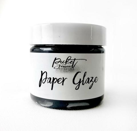 Picket Fence Paper Glaze, sävy Black Pansy