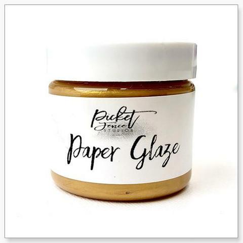 Picket Fence Paper Glaze, sävy Golden Rose