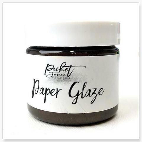 Picket Fence Paper Glaze, sävy Brown Dahlia