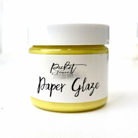 Picket Fence Paper Glaze, sävy Daffodil Yellow