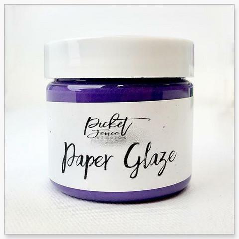 Picket Fence Paper Glaze, sävy Agapantha Purple