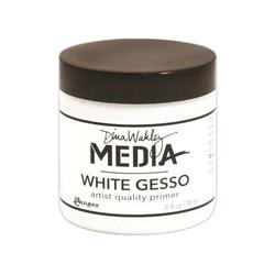 Dina Wakley Media Gesso, valkoinen, 118 ml