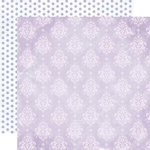 Kaisercraft Amethyst skräppipaperi Moonstone