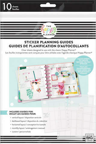 Mambi Classic Clear Sticker Planning Guide
