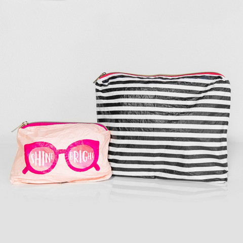 Mambi Flexible Pouch, Shine Bright -pussukat, 2 kpl