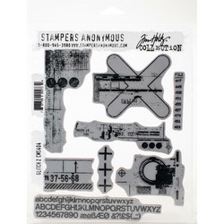 Stampers Anonymous, Tim Holtz leimasinsetti Glitch 2