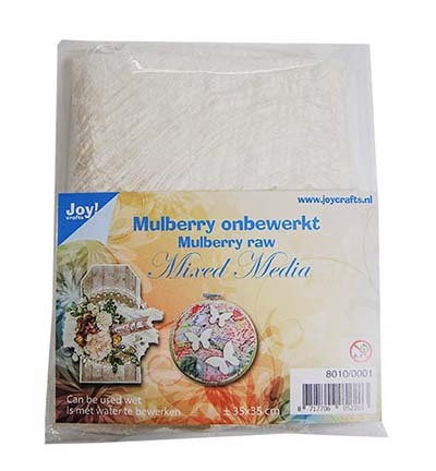 Joy! crafts Mulberry for Mixed Media, luonnonvalkoinen