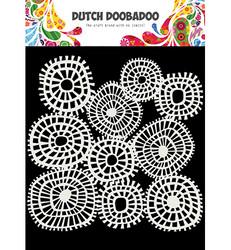 Dutch Doobadoo Linnen Circles -sapluuna