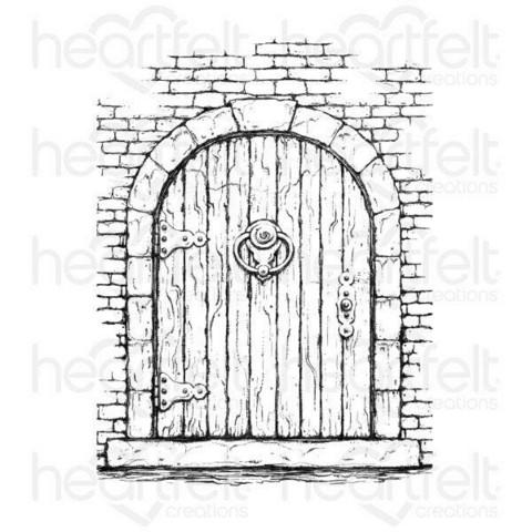 Heartfelt Creations French Doorway -leimasin