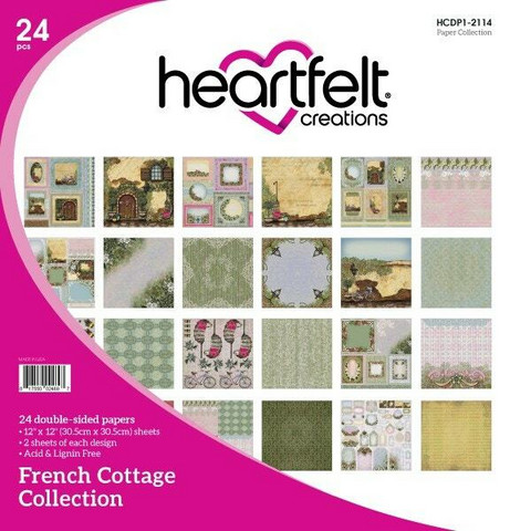 Heartfelt Creations Paperipakkaus French Cottage