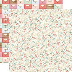 Carta Bella Farmhouse Market skräppipaperi Antique Floral