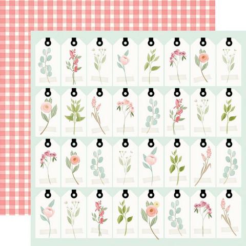 Carta Bella Farmhouse Market skräppipaperi Tags