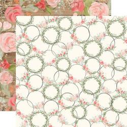 Carta Bella Farmhouse Market skräppipaperi Wreaths
